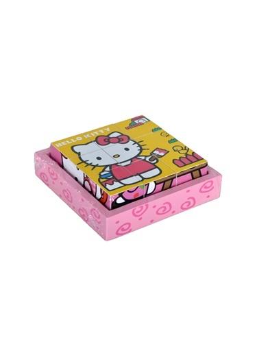 Hello Kitty Ahşap 9 Küp Bulmaca-Learning Toys